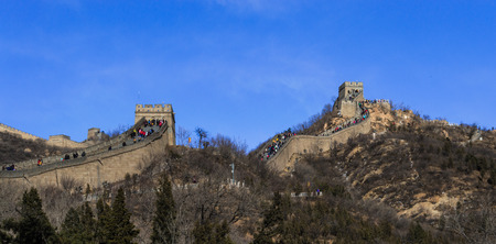 great wall: The great wall Stock Photo