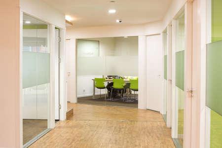 office environment: A Corridor In an office environment or classrooms Editorial
