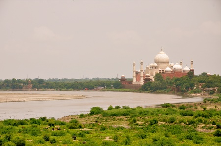 jehan: Yamuna river by the Taj Mahal