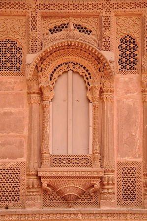 An Ancient window in Rajasthan, India
