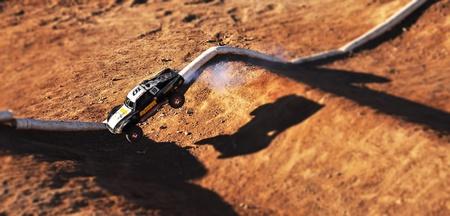Remote Controlled car racing track in Lake Havasu, Arizona