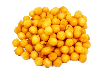 crunchy soup pearls Stock Photo