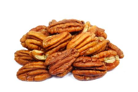 Natural pecan nuts (Carya illinoinensis)