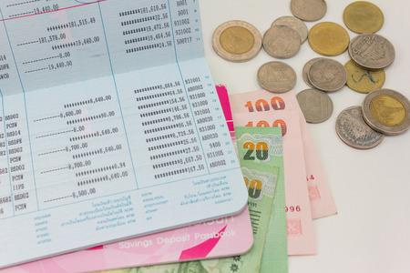Thaise geld bad en Saving Account Passbook