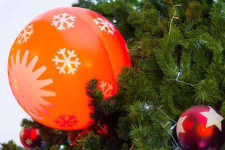 christmas tree decorated photo