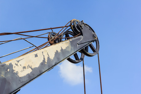 old crane and out of service photo