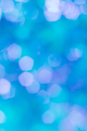 pentagonal: blue pentagonal Bokeh for background Stock Photo
