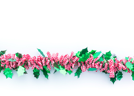 christmas background in top view with copy space Standard-Bild - 109802022