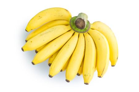 Banana isolated on white background Stockfoto