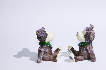 fable: figurine dolls Stock Photo
