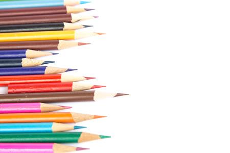 colored pencils: Colored pencils Stock Photo