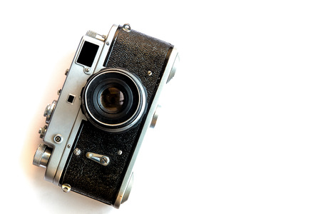 Rangefinder vintage camera Stok Fotoğraf