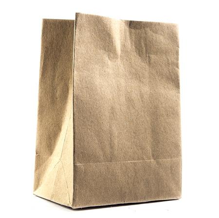 paper craft: Brown Paper Bag