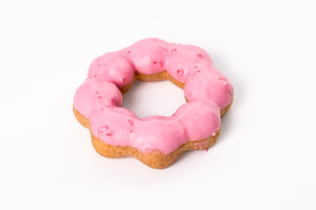 donut  on white background photo