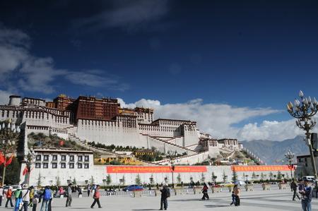 potala: The Potala Palace in Tibet