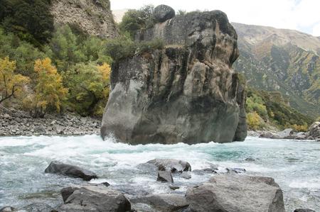 nature scenery: Nature scenery view of Tibet Stock Photo