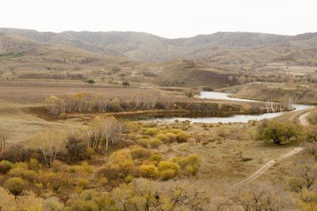 inner mongolia: Inner Mongolia grassland