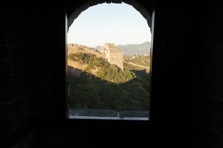 jinshanling: Old---great wall Jinshanling  Stock Photo
