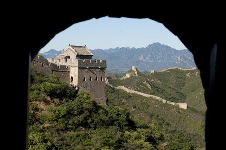 jinshanling: Hebei luanping Jinshanling great wall Stock Photo