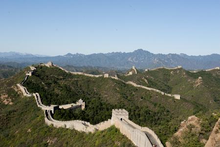 great wall: Hebei luanping Jinshanling great wall Stock Photo