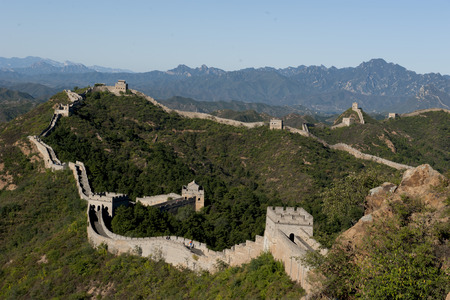 jinshanling: Hebei luanping Jinshanling great wall Stock Photo