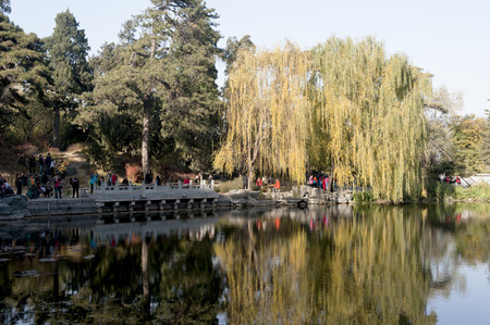 fragrant: The fragrant Hills Park in autumn