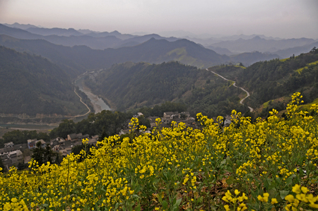 province: Shexian County, Anhui Province seeing spring