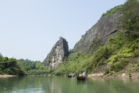river rafting: Fujian, Nanping: Wuyishan JIUQUXI river rafting well-known in the world