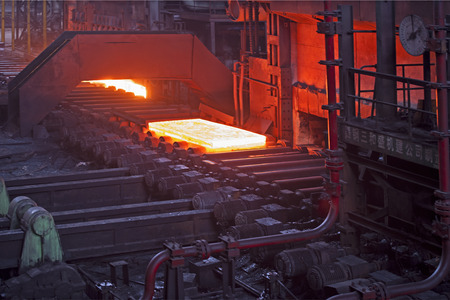 steel: steel plate Editorial