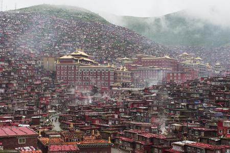 lamaism: La Seda Buddhist temple five Ming Rong