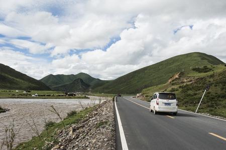 sichuan: Sichuan Ganzi nature landscape scenery