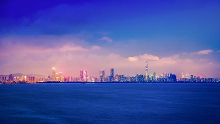 Shenzhen Bay scene Reklamní fotografie