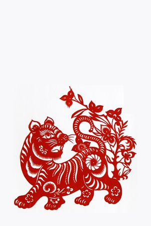 tiger,   Chinese zodiac animals.