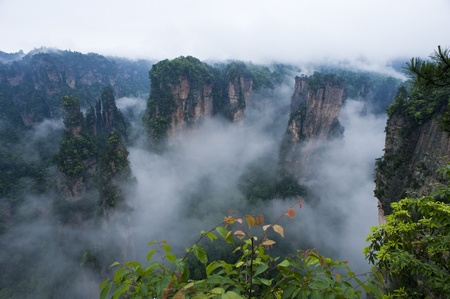 Mysterious Zhangjiajie in South China