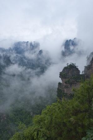 quartzite: Mysterious Zhangjiajie in South China