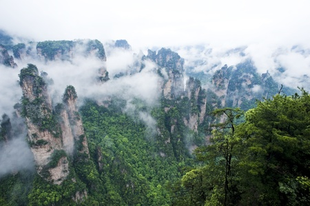 Geology and Landscape of Zhangjiajie in South China, Zhangjiajie