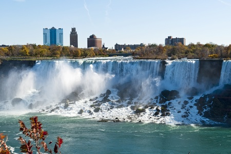 Niagara Falls Niagara Falls is the worlds largest falls, one of the most marvelous wonders in North America  photo