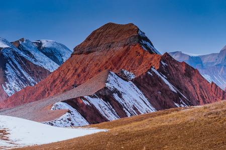 Xinjiang canyon Imagens - 96687244