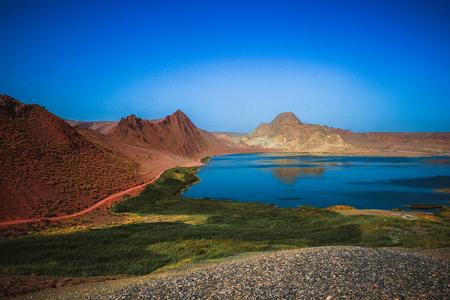 Lake on the outskirts of Urumqi