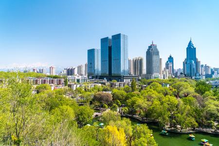 Urumqi scenery Imagens - 104252500