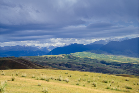 Xinjiang scenery Stock Photo