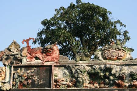 clan: Chen Clan sculpture
