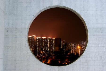night scenery: china night scenery Stock Photo