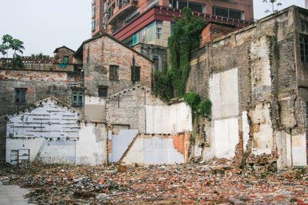 demolition: Demolition Stock Photo