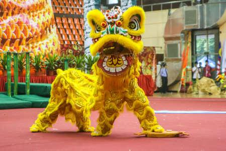 Lion dance Editorial
