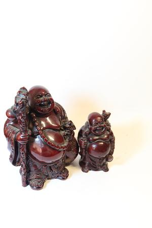 wood figurine: Carved sculpture