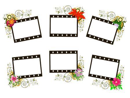 Decorative frames Stock Photo