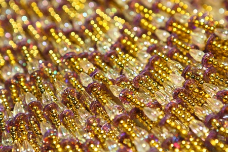sequin: colorful of sequin