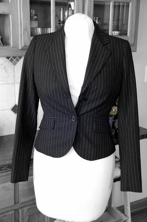 Cool suit jacket on a a dress form