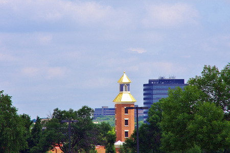 City view of Overland Park Kansas
